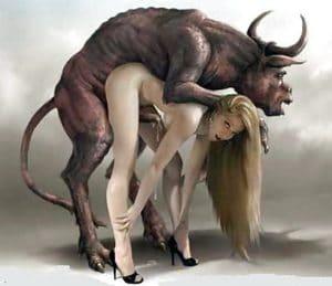 Der Bull einer Hotwife in einer Cuckold Beziehung.