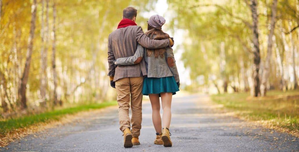 Spaziergänge eignen sich hervorragend für ein stufenweises Cuckold Coming-out